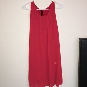 Dresses & Skirts - Red Flowy Dress